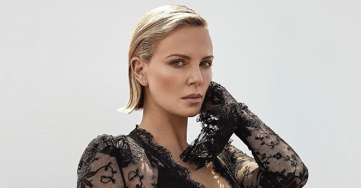 Nigerians Crucify Charlize Theron For Raising Her  Son As Female