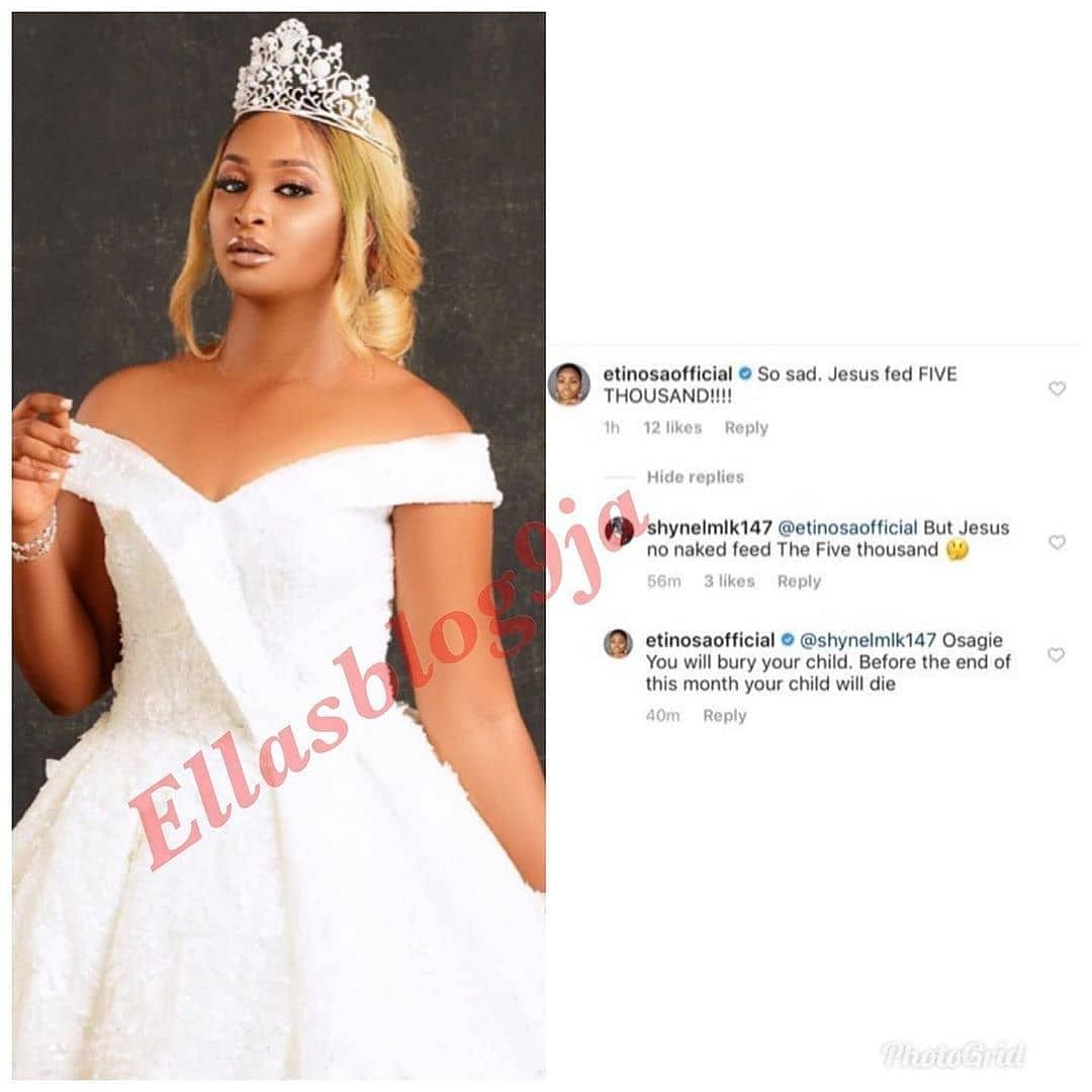 Read! What Comedienne Etinosa Said To An Online Troll Will Shock You