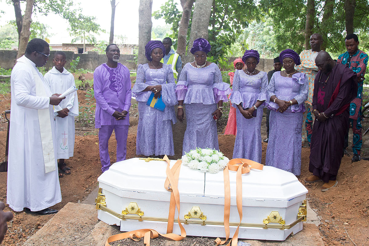 Happenings Media Marketing Executive, Funmi Olowosegun, Buries Mother In Grand Style