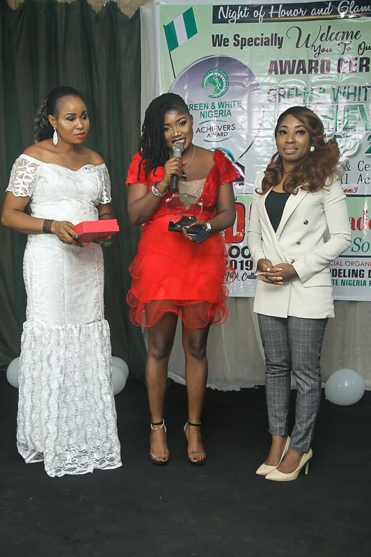 Green and white Awards 2019
