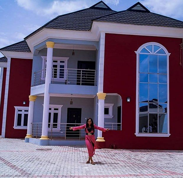Mercy Aigbe Is Not The Owner Of The House She Flaunted On Social Media