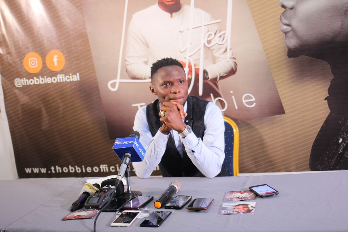 Singing Sensation Thobbie Condemns the Nigerian Gospel Music Industry