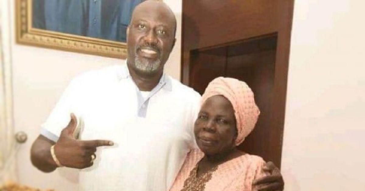 Melaye and his late mother