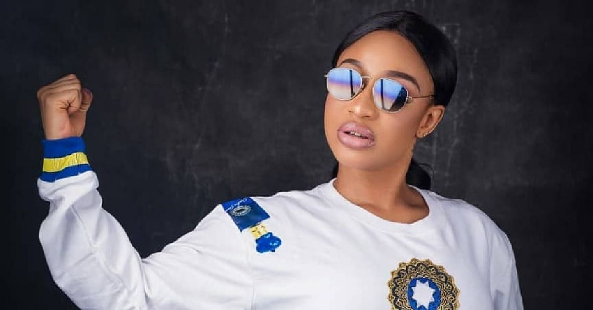 Tonto Dikeh Laughs At Fan Who Says She Will Never Find Love