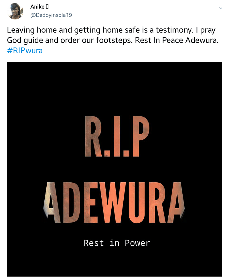Missing Lagos Girl: Tributes Pour In For Late Adewura Bello