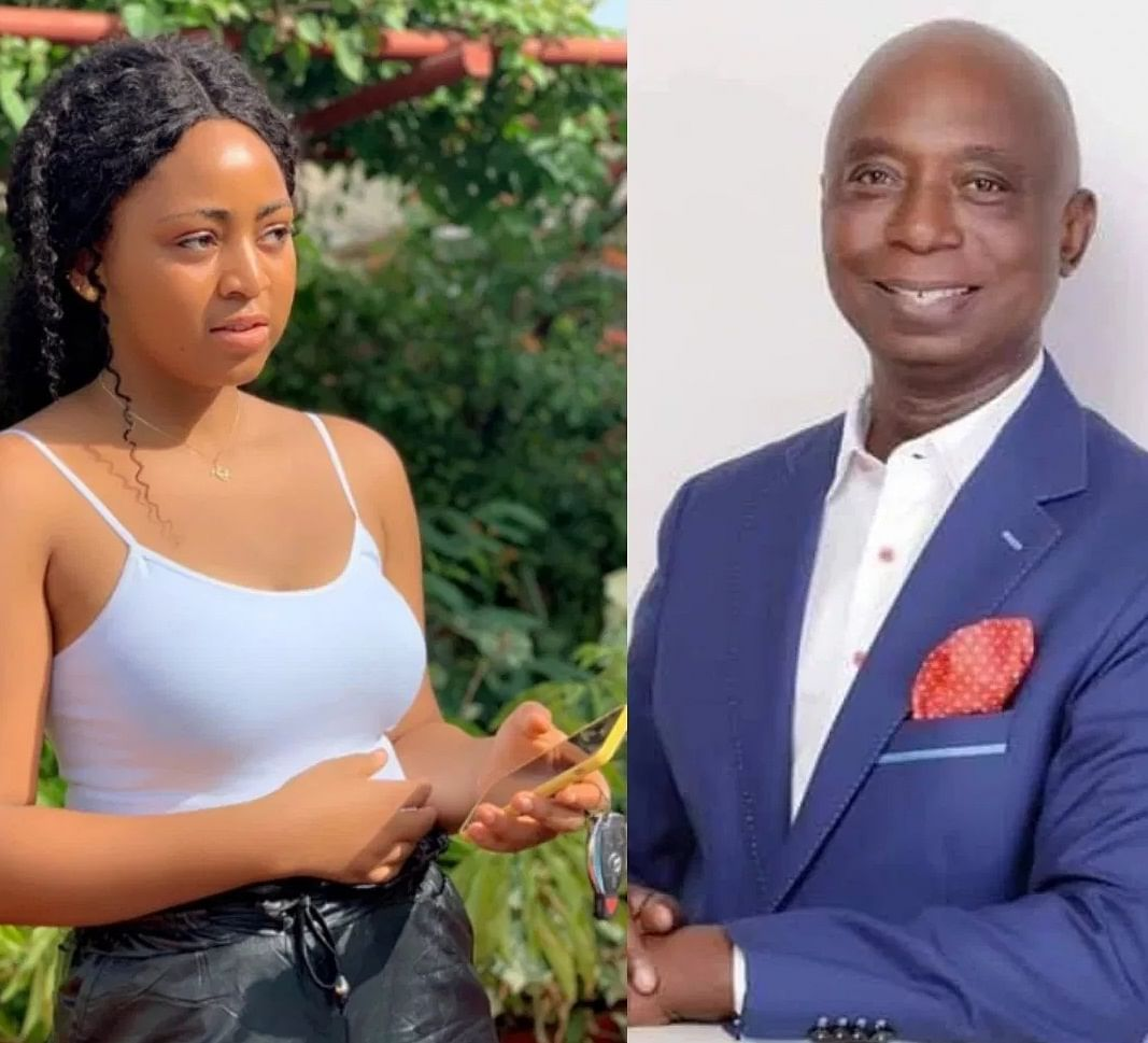 Regina Daniels' Father Is Against Her Marriage To Ned Nwoko