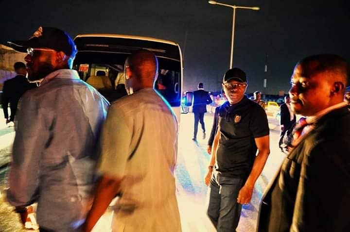Sanwo-Olu Arrests Danfo Driver On Eko Bridge