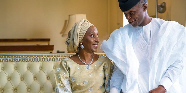 Osinbajo To Wife: With You By My Side, I'm Ready For The Next Four Years