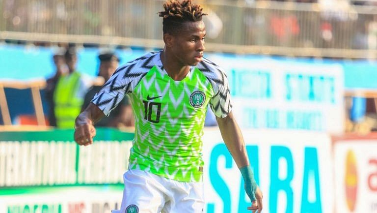 Chukwueze Dumps U-20 World Cup For African Cup Of Nation