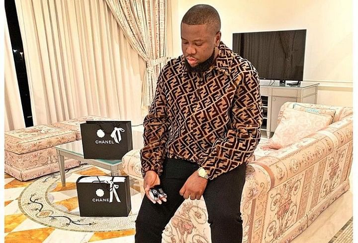 """I Don't Sit In The Same Car With My Bags,"" Hushpuppi Declares"