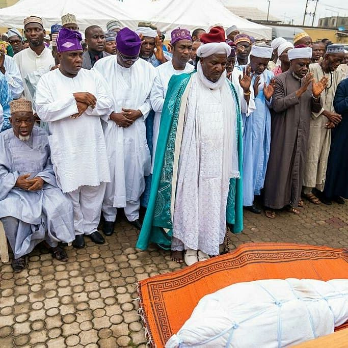 Tinubu, Sanwo-Olu, attend funeral of Deputy Gov-elect's father