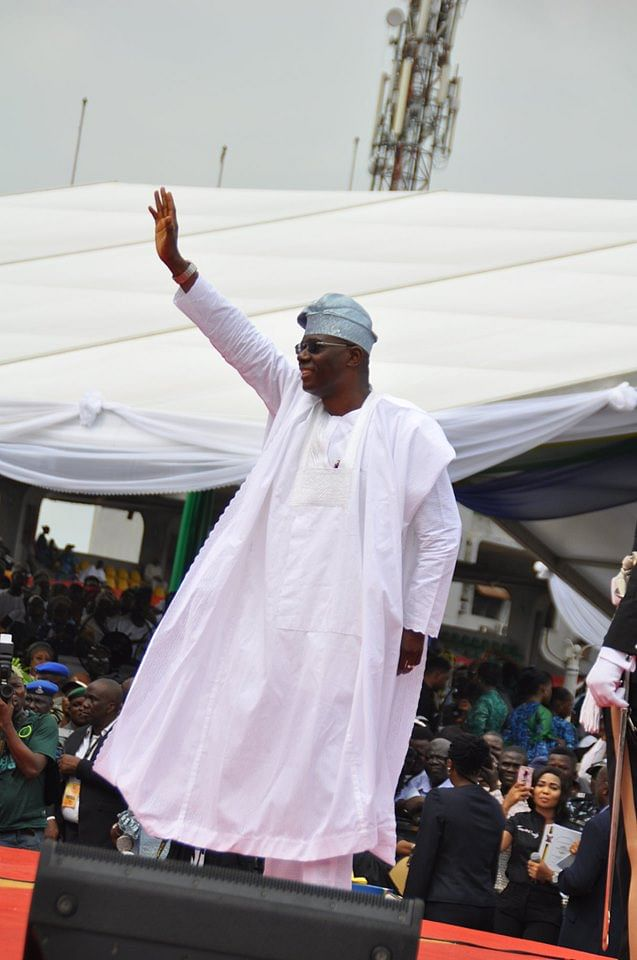 Babajide Sanwo-Olu Sworn in as Governor Of Lagos State