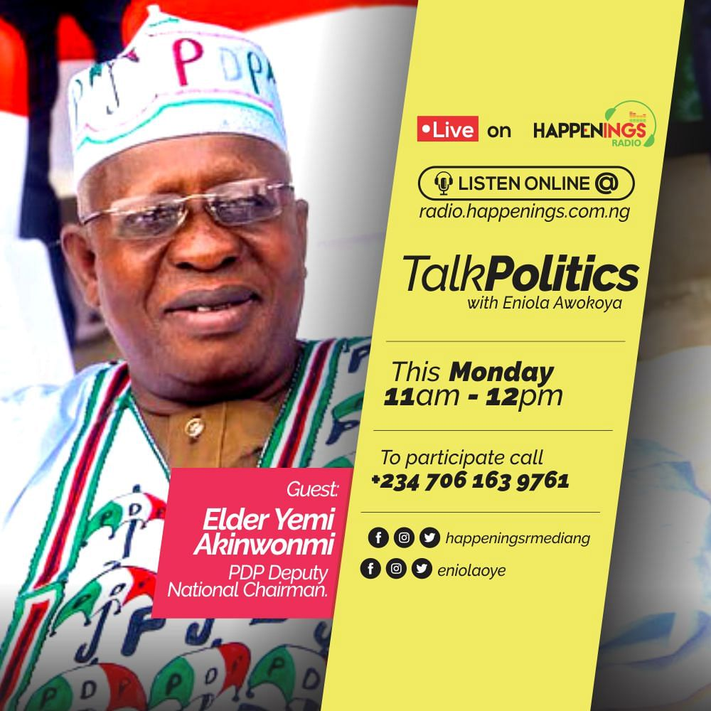 Talk Politics with Eniola Awokoya