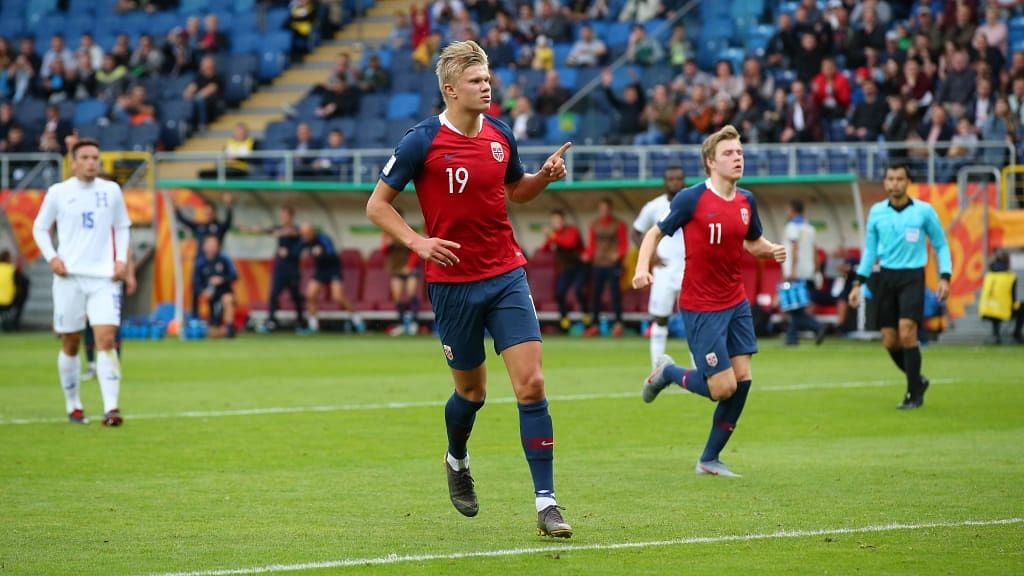 Watch How Erling Haland And Norway Smashed FIFA U-20 Records In 12-0 Win Against Honduras