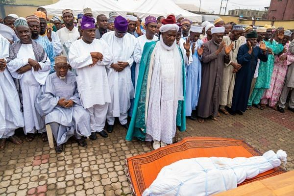 Tinubu, Sanwo-Olu, Others Attend Funeral Of Deputy Gov-Elect's Father