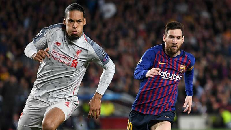 Messi Leaves Van Dijk 'Grateful' He Doesn't Play In Spain