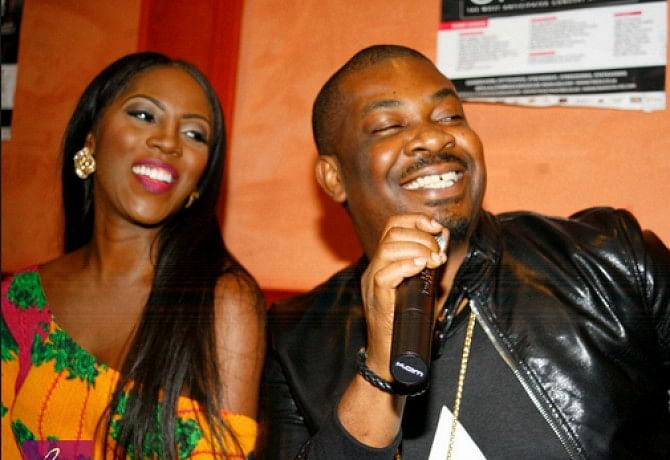 Don Jazzy Bids Tiwa Savage Farewell As She Goes Universal
