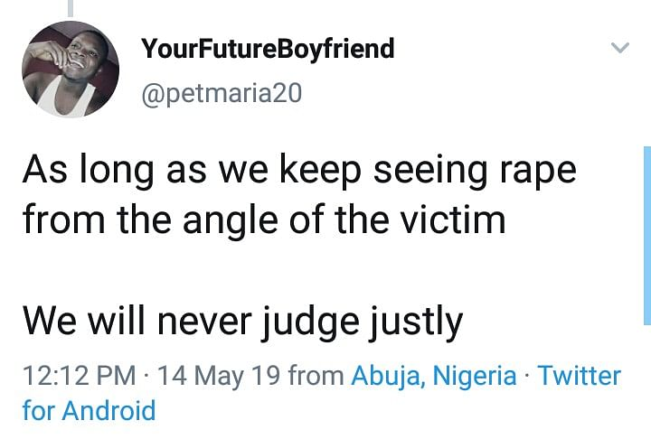 """If You Lead A Guy On And He Forces You, It's Not Rape"" - Nigerian Trained Feminist"