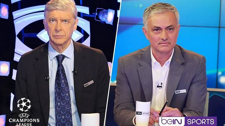 Mourinho And Wenger Together For Champions League Final Punditry