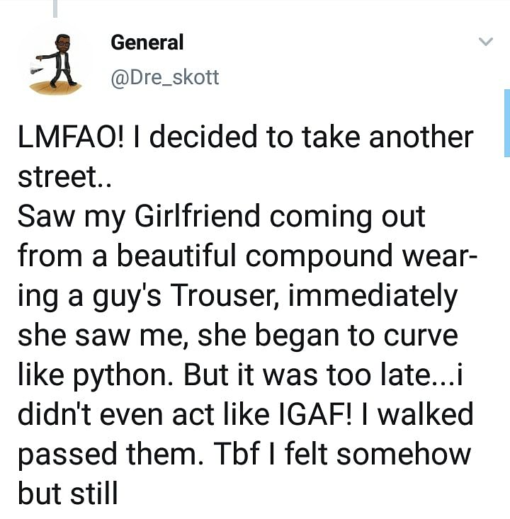 Man Spots His Girlfriend With Another Man After Lying She Was Traveling Home
