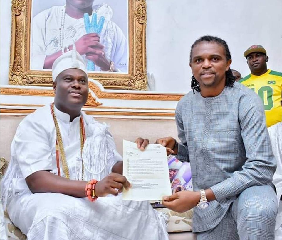 Kanu and Ooni of Ife