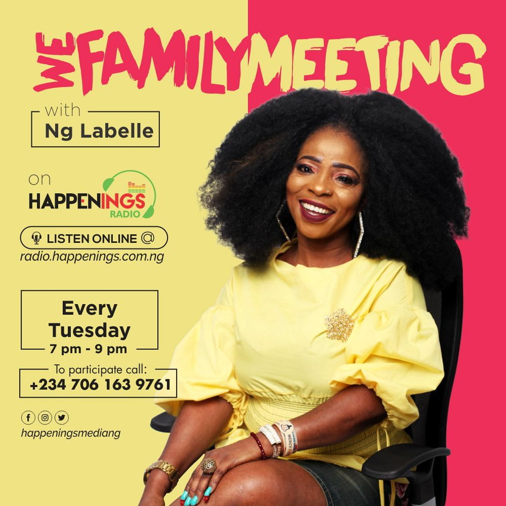 We Family Meeting With Ng Labelle
