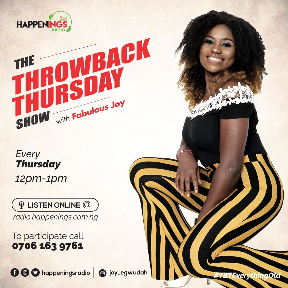 Throw Back Thursday Show With Joy and Reine