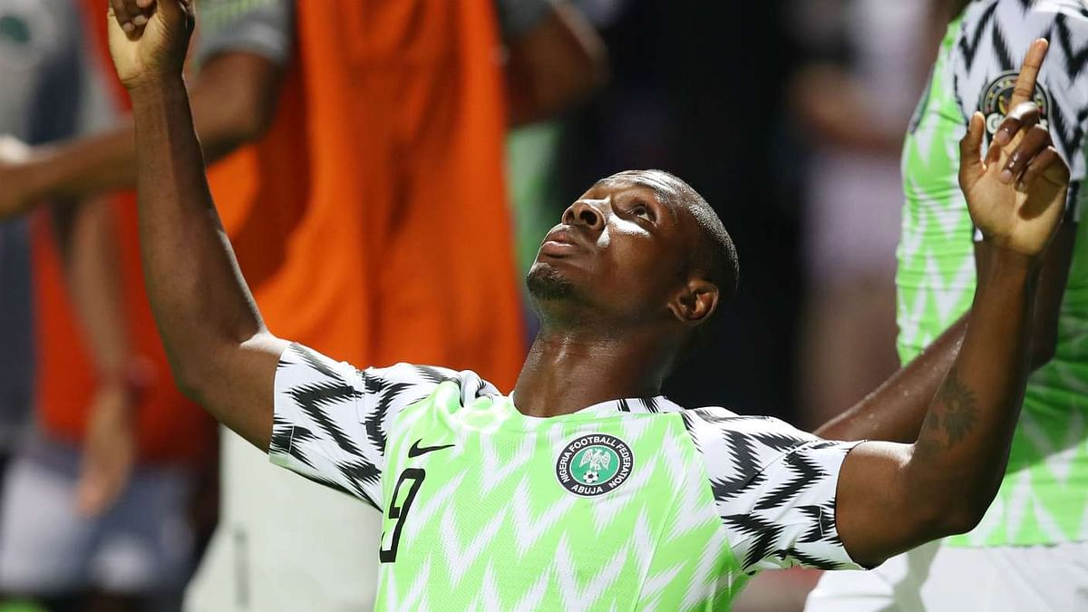 Odion Ighalo Set To Start Against Guinea After He Is Passed Fit