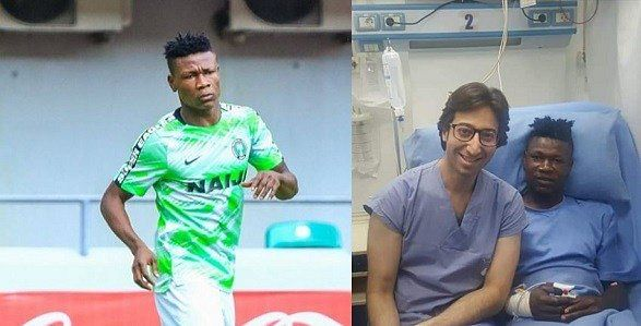 Samuel Kalu In Stable Condition After Collapsing In Super Eagles Final Training Ahead Of AFCON Opener