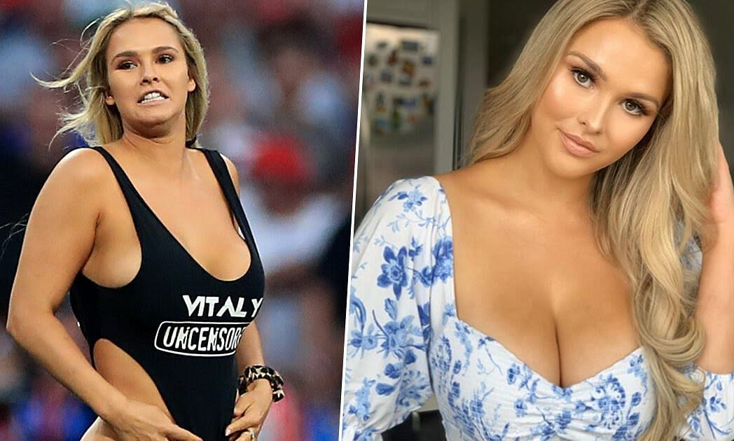 Russian Model, Kinsey Wolanski, Becomes Internet Sensation After Champions League Final Swimsuit Invasion