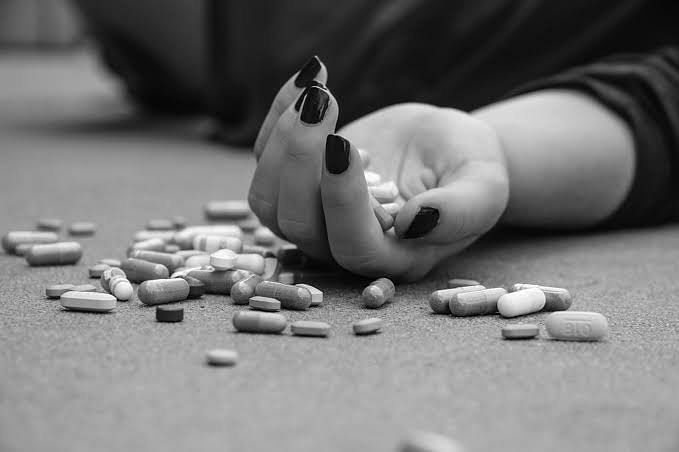 Depressed individuals sometimes take an overdose of pills to end their lives