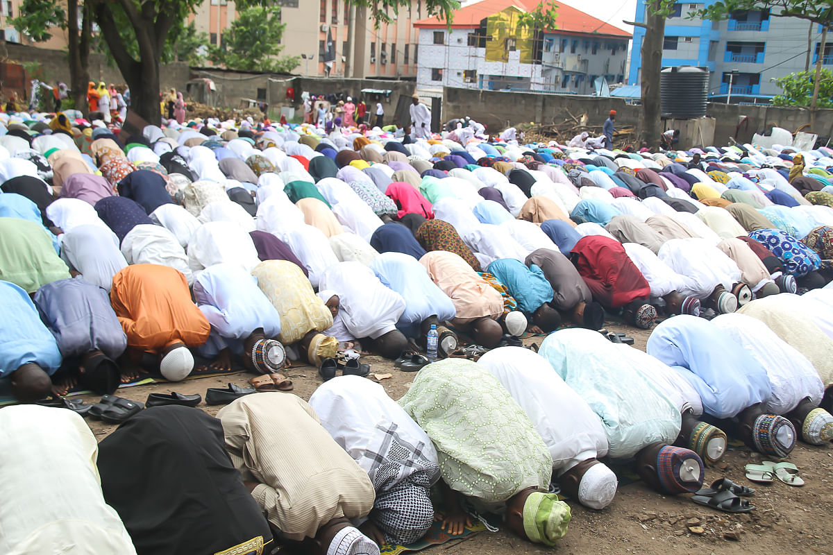 """Eid-El-Fitri: """"Eliminate Camps And Hideouts Of Kidnappers,"""" Imam Sulaiman Bayonle To President Buhari"""