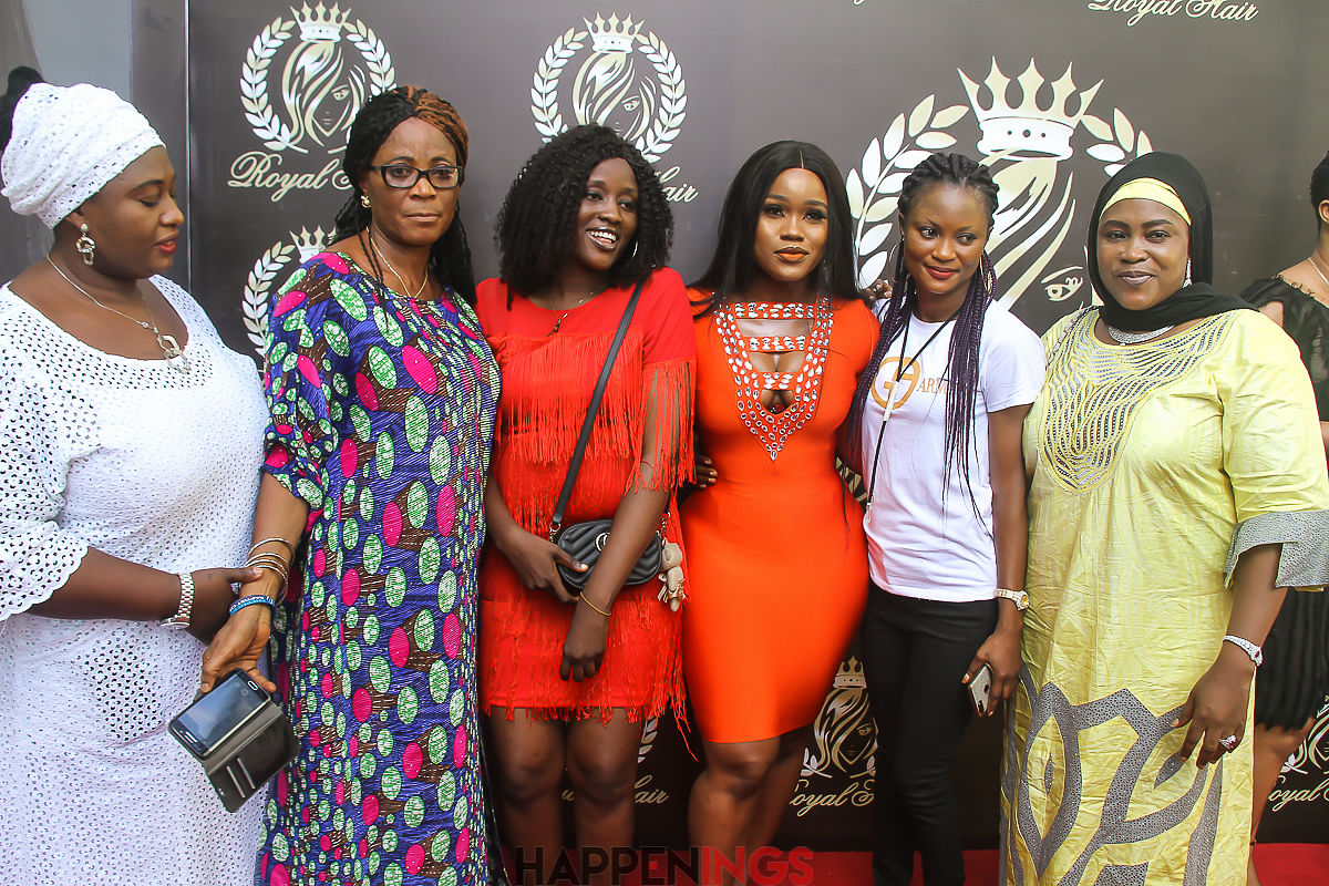 Cee-C with her fans