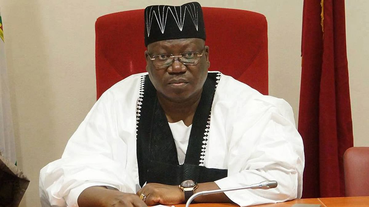 Ahmed Lawan Sworn In As Senate President