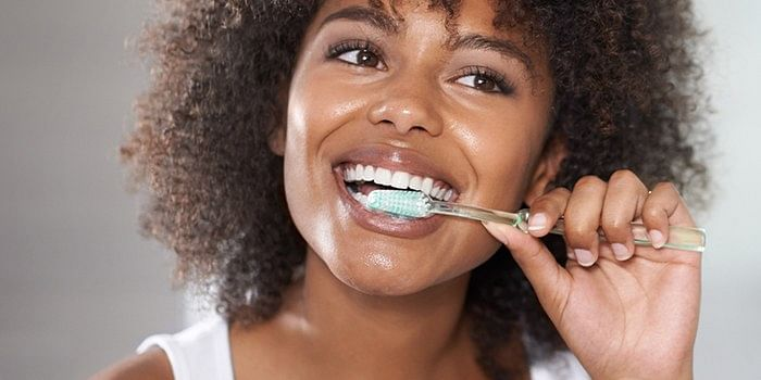 Brushing twice daily is good for your oral health