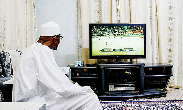 """Bring Home AFCON Trophy,"" Buhari Charges Super Eagles"