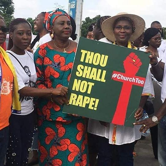 COZA: Protest in Abuja Over Rape Allegations