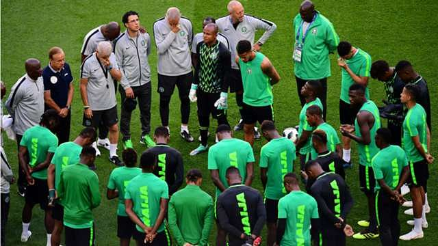 Super Eagles Arrive Egypt For 2019 Africa Cup Of Nations