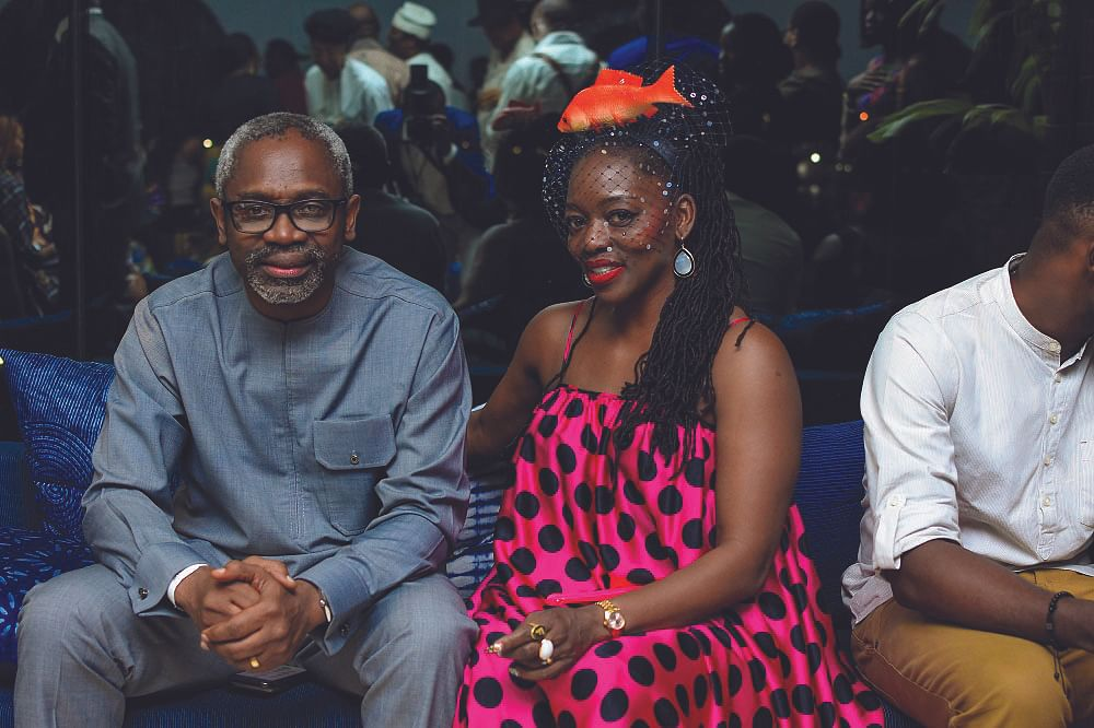 Speaker, Gbaja, and wife, Salamatu