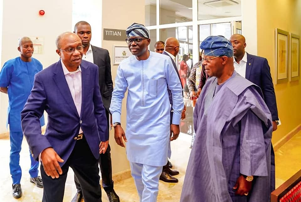 GOV. Sanwo-Olu Attends CBN Growth Consultative Roundtable