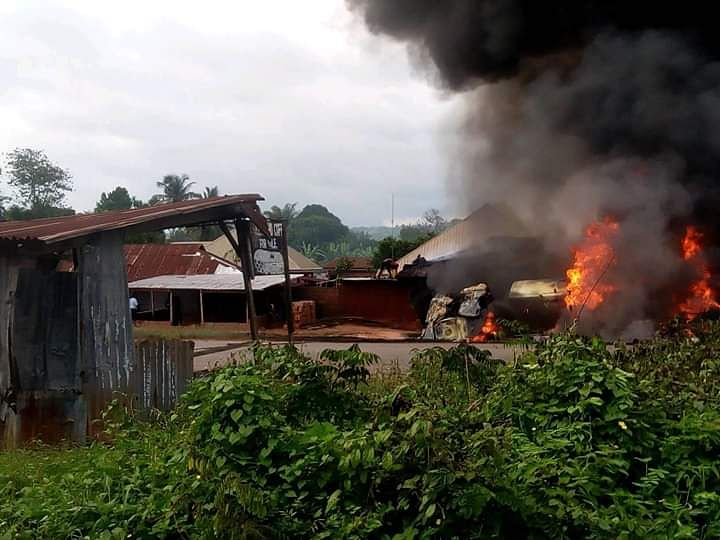 Fuel Tanker Explodes In Edo State, Kills Two