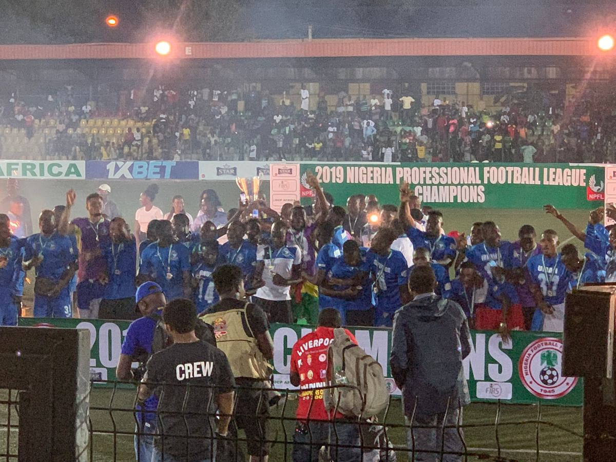 Enyimba Clinch 2019 Nigerian Professional Football League Title