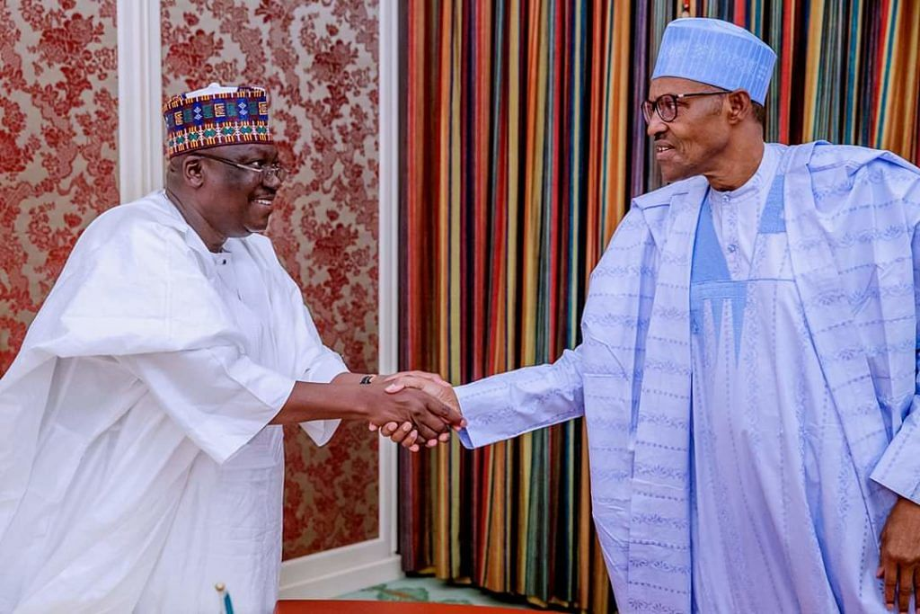 Ministerial List: Buhari, Lawan Meet In Aso Rock