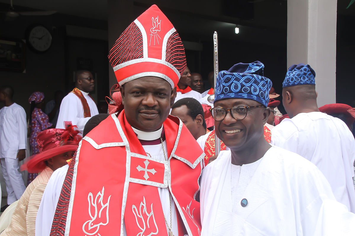 Afuye Attends Special Inauguration Thanksgiving Service