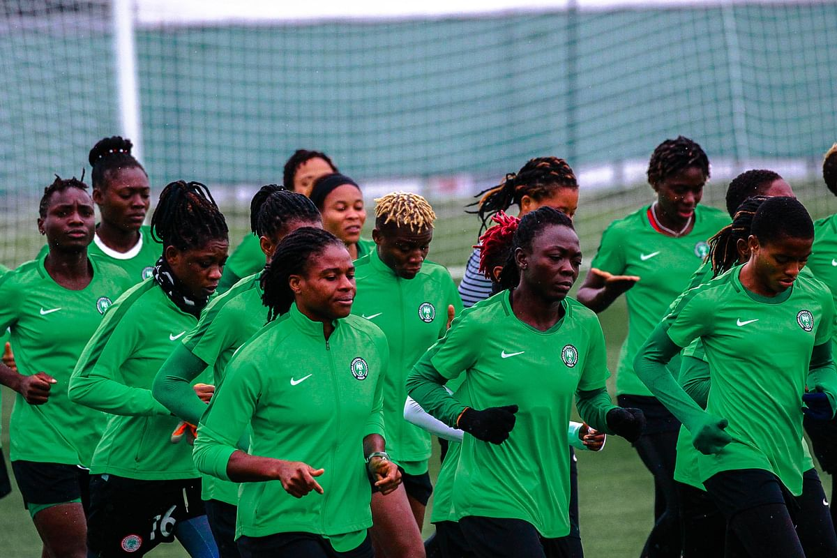 Super Falcons Hold First Training Session In France