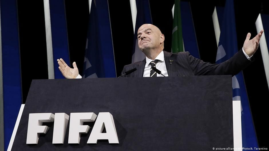 Gianni Infantino Re-elected FIFA President Until 2023