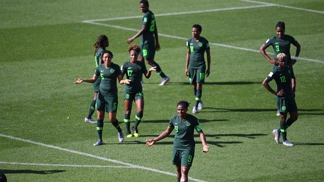 Super Falcons Refuse To Leave Team Hotel In France Over Unpaid Allowances