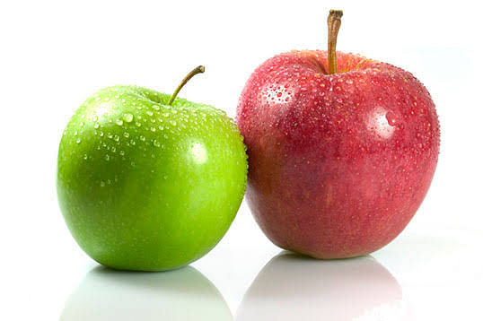 Healthy apples