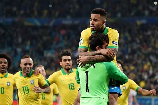 EPL Stars Shine As Brazil Progresses To COPA America Semi-Final