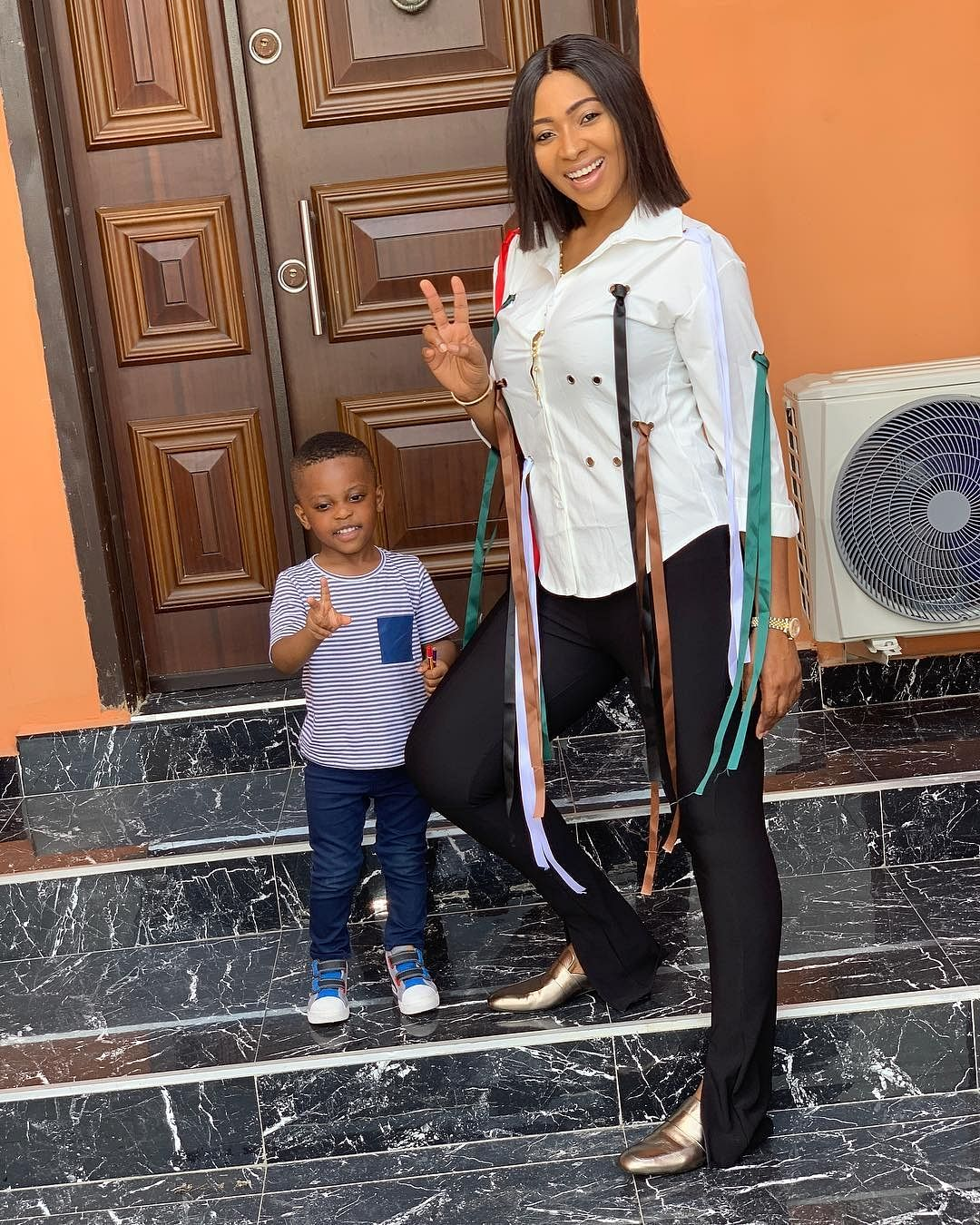 Lilian Esoro and Jayden